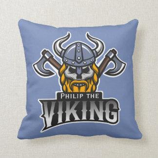 Personalized Viking sign Cushion