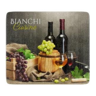 Personalized Vineyard Cutting Board