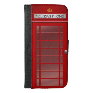 Personalized Vintage British Telephone Booth