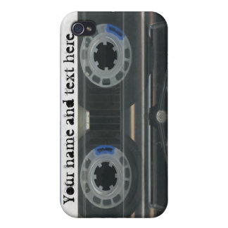 Personalized vintage Cassette Tape iPhone4/4s skin iPhone 4 Case