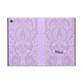 Personalized Violet Fantasy Floral iPad Mini Case