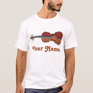 Personalized Violin Tee Gift