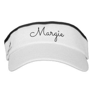 Personalized  visor. visor
