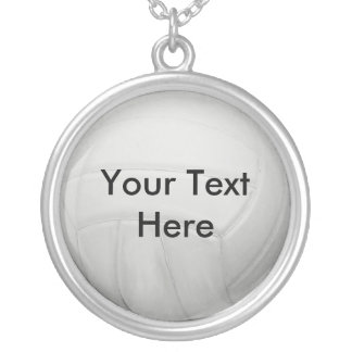 Personalized Volleyball Necklace