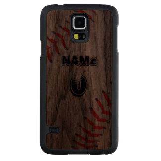 Personalized Walnut phone case