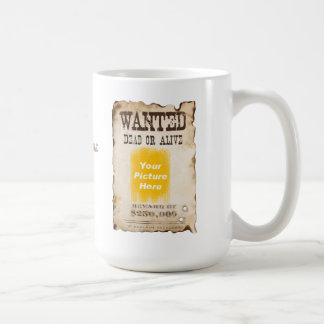 Personalized Wanted Poster Mug