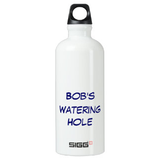 Personalized Watering Hole Water  Bottle SIGG Traveller 0.6L Water Bottle