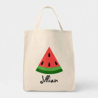 Personalized Watermelon Slice Bag