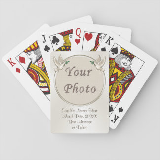 Personalized Wedding Favors for Guests Poker Deck
