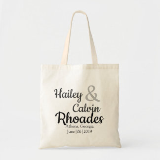 Personalized Wedding Guest Hotel Bag