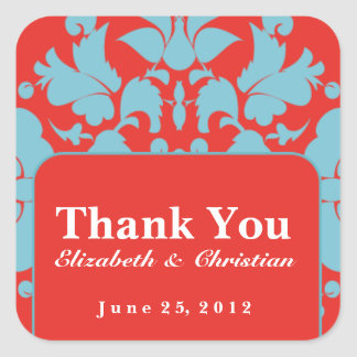 Personalized Wedding or Event Sticker