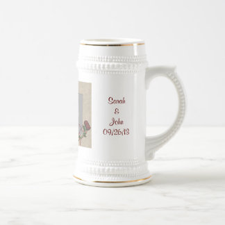 Personalized Wedding Photo Stein Mug