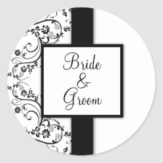 Personalized Wedding Stickers