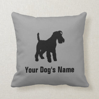 Personalized Welsh Terrier ウェルシュ・テリア Cushion