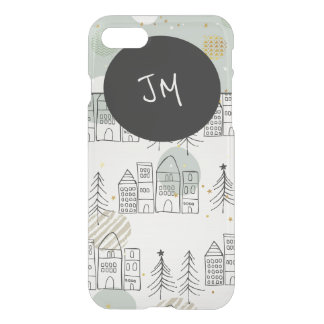 Personalized Whimsical Houses iPhone 7 Case