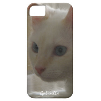 Personalized White Kitty Case iPhone 5 Cases
