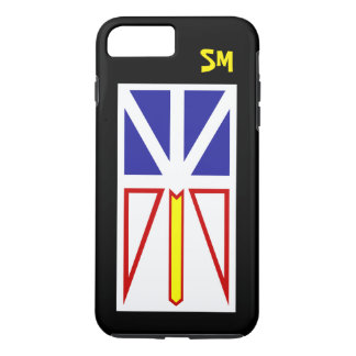 Personalized with Newfoundland Flag - iPhone 8 Plus/7 Plus Case