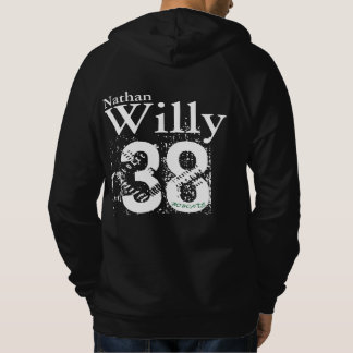 Personalized with Number Hoodie