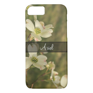 Personalized with Photo of Dogwood Blossoms, 2 iPhone 8/7 Case