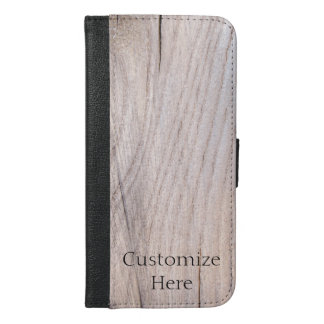 Personalized Wood Design iPhone 6/6s Plus Case