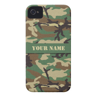 Personalized Woodland iPhone 4/4S Case