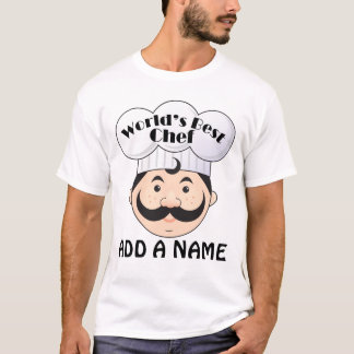 Personalized World's Best Chef T-Shirt