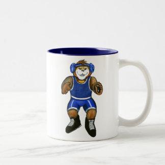 Personalized Wrestler Mug