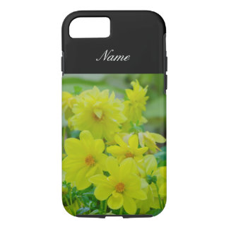 Personalized Yellow Floral iPhone 7 Case