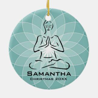 Personalized Yoga Pose Ornament
