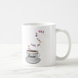 Personalized You Are My Cup of Tea Mug