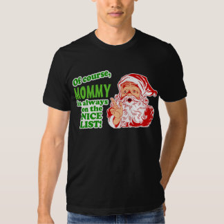 Personalized (your name) Christmas T-shirts