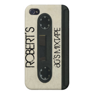 Personalized 'Your Name' Mixtape iPhone4/4s skin iPhone 4 Case