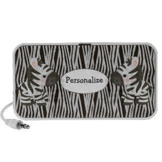 Personalized Zebras & Animal Print Speaker
