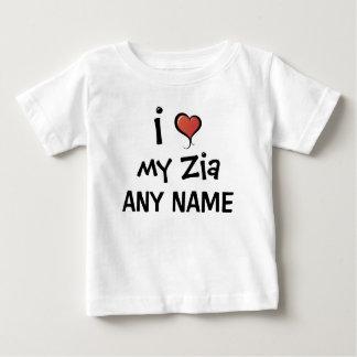 Personalized Zia Love T Shirt