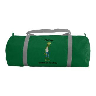 Personalized Zombie Hunter Gym Bag