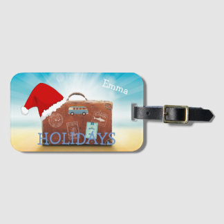 Personalsed Holiday Luggage Tag