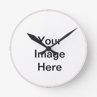 Personlised items wall clock