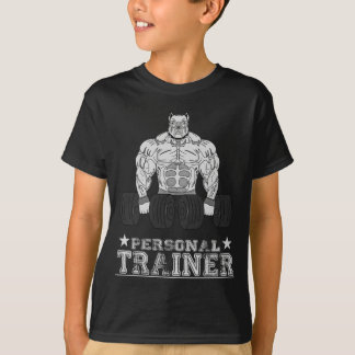 Personnel coach bodybuilding Bodybuilder fitness T-Shirt