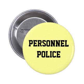Personnel Police - Human Resources Department Buttons