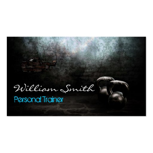 Personnel Trainer Business card