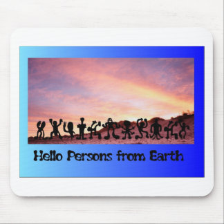 Persons from Earth Mouse Pad