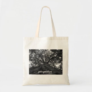 perspective budget tote bag