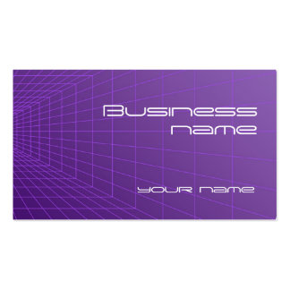 Perspective Grid Business Card