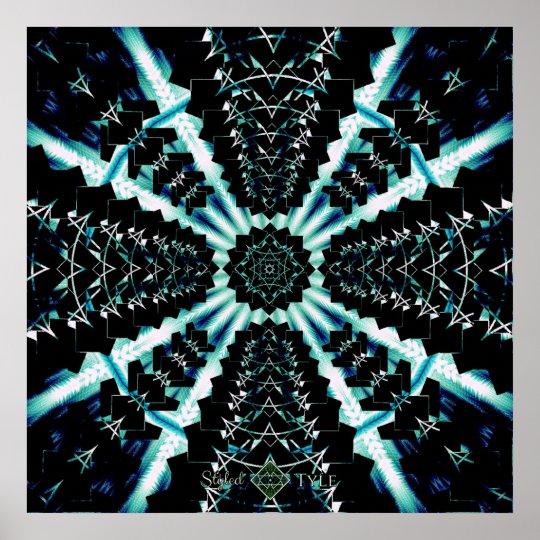 Perspective Onyx Soundwave Poster