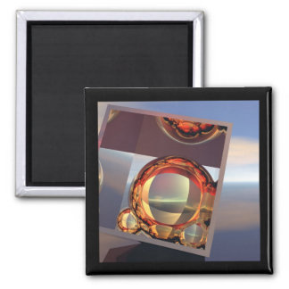 Perspective Square Magnet