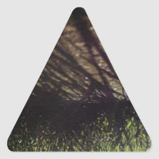 Perspective Triangle Sticker