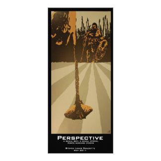 """Perspective"" Value Bookmarks Rack Card"