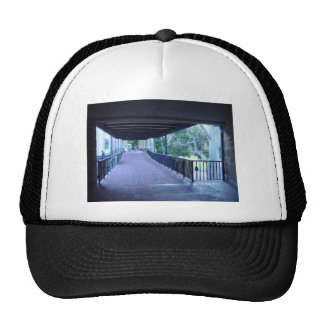 Perspective View Of Main Library Walkway In Univer Mesh Hat