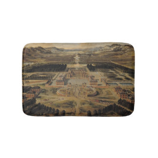 Perspective view of the Chateau Bath Mats