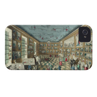 Perspective View of the Salon of the Royal Academy iPhone 4 Case-Mate Cases